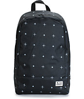 LRG Core Collection Two Ditzy Black Backpack