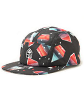 LRG Creative Castaways Black 5 Panel Hat