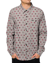 LRG Crystal Peak Long Sleeve Button Up Shirt