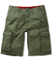 LRG Equipment Classic Olive Cargo Shorts