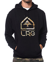 LRG Family Operation Black Pullover Hoodie