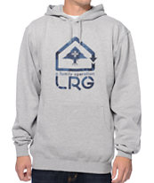 LRG Family Operation Grey Pullover Hoodie