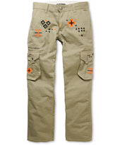 LRG Father Nature True Straight Khaki Regular Fit Cargo Pants