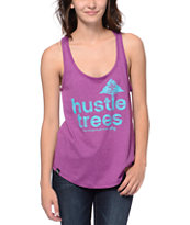 LRG Hustle Trees Plum Tank Top