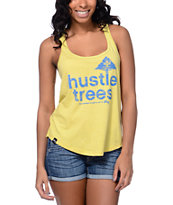 LRG Hustle Trees Yellow Tank Top