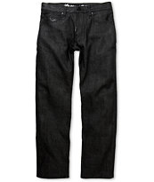 LRG Infantree True Straight Raw Black Regular Fit Jeans