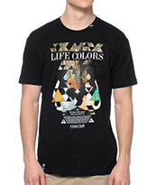 LRG Life Colors Black Tee Shirt