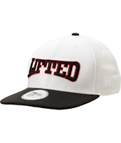 LRG Lifted Giraffe White Snapback Hat