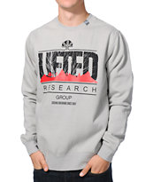 LRG Lifted Motherland Grey Crewneck Sweatshirt