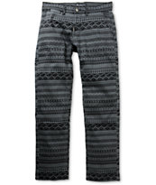 LRG Lion Rock True Straight Charcoal Pattern Regular Fit Pants