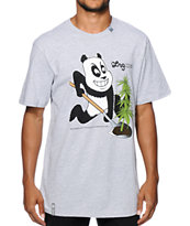 LRG Panda Strain Grey T-Shirt