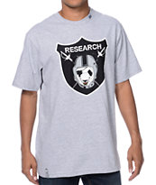 LRG Raid And Research Grey Tee Shirt