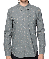 LRG Research Collection Ditzy Bird Button Up Shirt