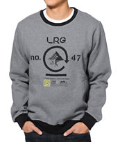 LRG Retro Eternity Charcoal Crew Neck Sweatshirt