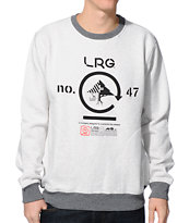LRG Retro Eternity Grey Crew Neck Sweatshirt