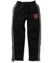 LRG Rockwood Black Fleece Sweat Pants