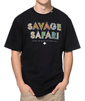LRG Savage Safari Black Tee Shirt