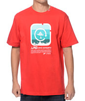 LRG Shine Blockers Red Tee Shirt