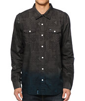 LRG So Meta Long Sleeve Button Up Shirt