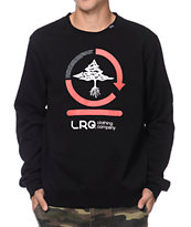 LRG Team Cycle Black Crew Neck Sweatshirt