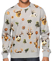 LRG The Wild Crew Neck Sweatshirt