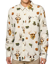 LRG The Wild Long Sleeve Button Up Shirt