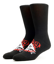 LRG Tree Ripper Black Crew Socks