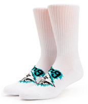 LRG Tree Ripper White Crew Socks