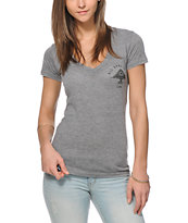 LRG Trust No One V-Neck T-Shirt