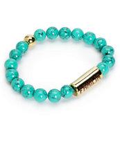 La Familia Stoned Turquoise Beaded Bracelet