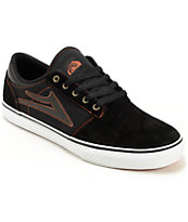 Lakai Brea Black Suede Shoes