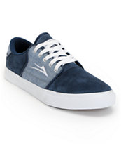 Lakai Carlo Navy & Chambray Low Top Skate Shoe
