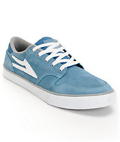 Lakai Carroll 5 Blue & Grey Suede Skate Shoe