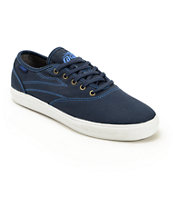 Lakai Carter Navy Twill Shoes