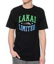 Lakai Forum Black Tee Shirt