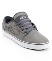 Lakai Judo Grey Wool Skate Shoe