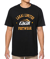 Lakai Squad Black & Orange Tee Shirt