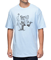 Lakai x Workaholics Beer Run Blue T-Shirt