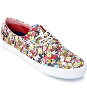 Lakai x hello sanrio Camby Sanrio Pattern Canvas Skate Shoes