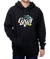 Lakai x hello sanrio Group Photo Black Hoodie