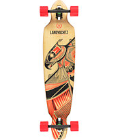 Landyachtz Bamboo Battle Axe 40 Drop Through Longboard Complete
