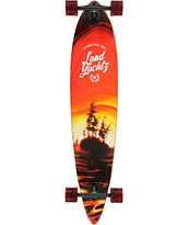 Landyachtz Bamboo Pinner 44 Pintail Longboard Complete