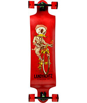 "Landyachtz Switch Skeleton 40"" Drop Through Longboard Complete"