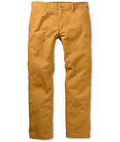 Levi's 511 Hybrid Trouser Bronze Brown Skinny Pants