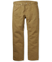 Levi's 513 Cougar Bedford Dark Khaki Slim Fit Pants