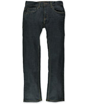 Levi's Boys 511 Rinsed Playa Slim Fit Jeans