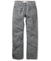 Levi's Boys 514 Grey Slim Straight Jeans