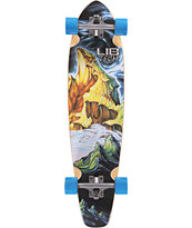 "Lib Tech Parillo 35"" Cruiser Complete Skateboard"