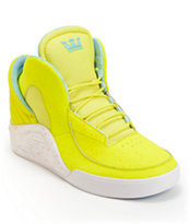 Lil Wayne x Supra SPECTRE Chimera Highlighter Yellow Shoe