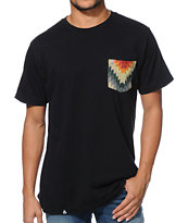 Lira Blanket Black Pocket Tee Shirt